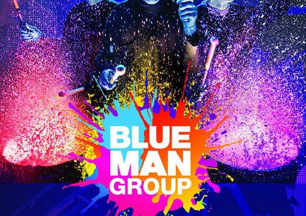 Veranstaltungsanzeige von Blue Man Group © Metropol Theater Bremen