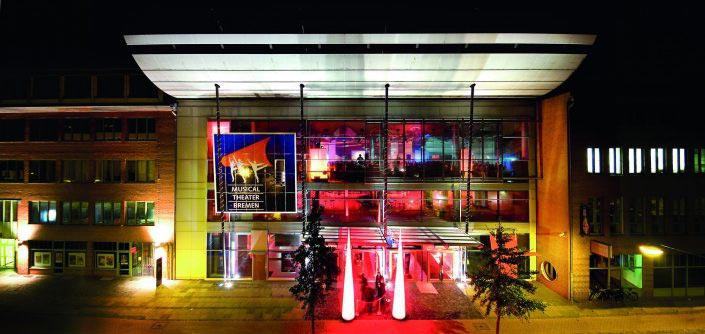 Bild Außenansicht Musical Theater Bremen © Metropol Theater Bremen