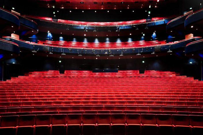 Bild der Tribune von der Musical Theater Bremen © Metropol Theater Bremen