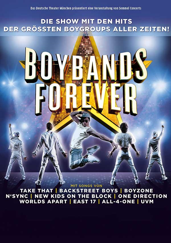 Boybands Forever – Tournee 2018