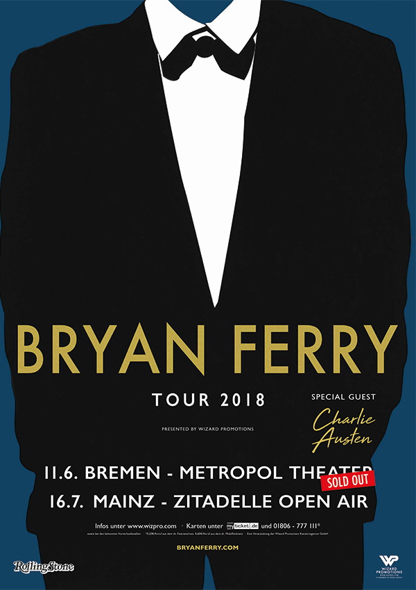 Bryan Ferry – Tour 2018