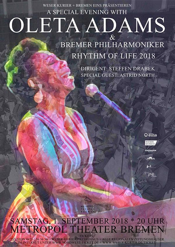 Oleta Adams und die Bremer Philharmoniker