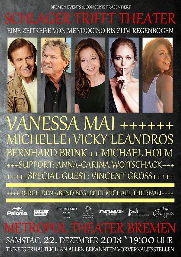 Schlager trifft Theater – mit Vanessa Mai, Michael Holm u.v.m.