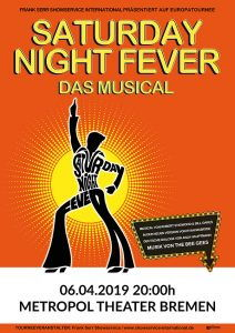Veranstaltungsbild Saturday Night Fever - Das Musical © Metropol Theater Bremen