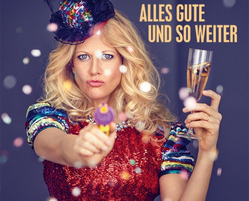Plakatmotiv Barbara Schöneberger - Alles Gute und so weiter im Metropol Theater Bremen