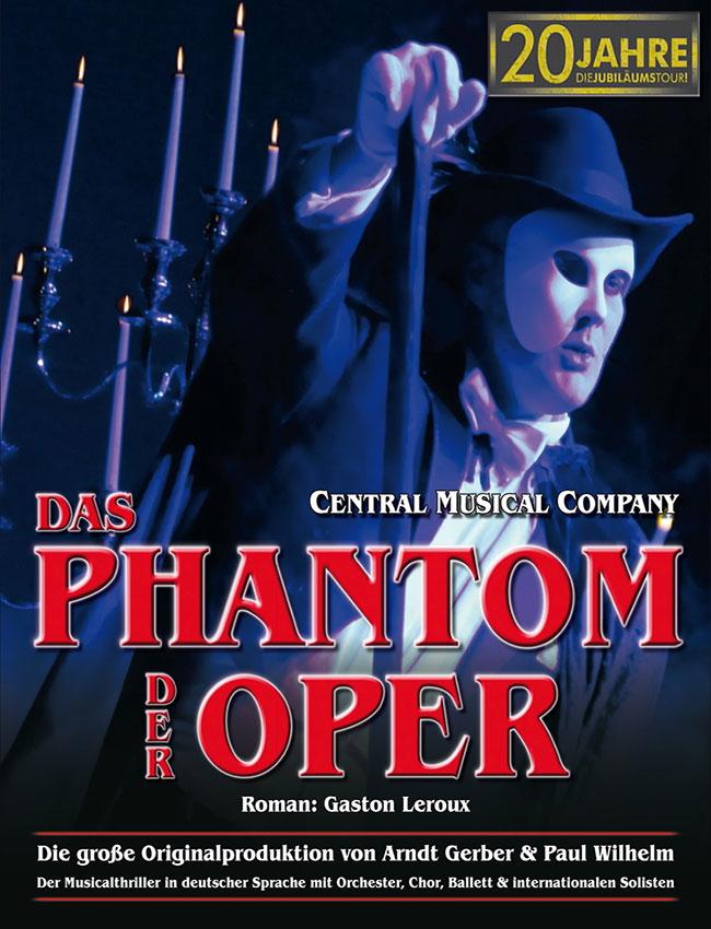 Das Phantom der Oper – von Paul Wilhelm und Arndt Gerber