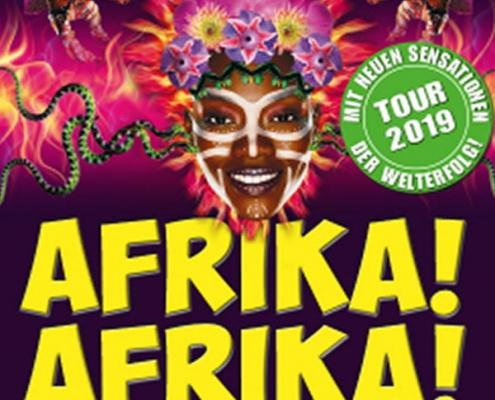 """Veranstaltungsbild """"Afrika! Afrika!"""" nach einer Idee von Andre Heller © Metropol Theater Bremen"""
