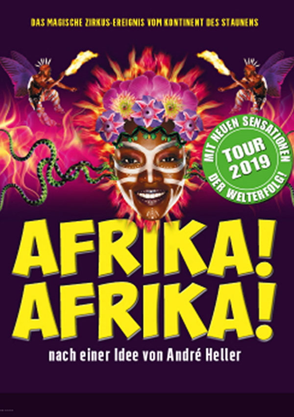 Afrika! Afrika! – Tournee 2019