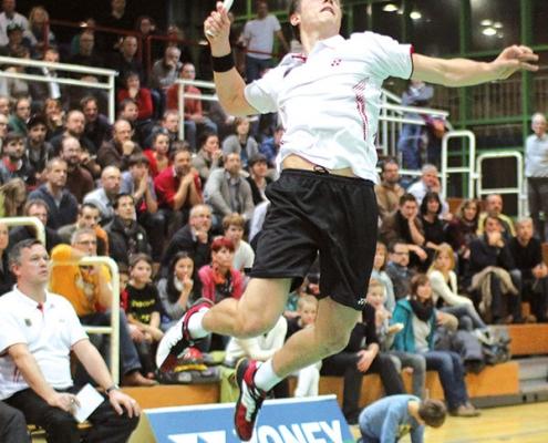 Foto Länderspiel Badminton Deutschland VS. Niederlande | Metropol Theater Bremen