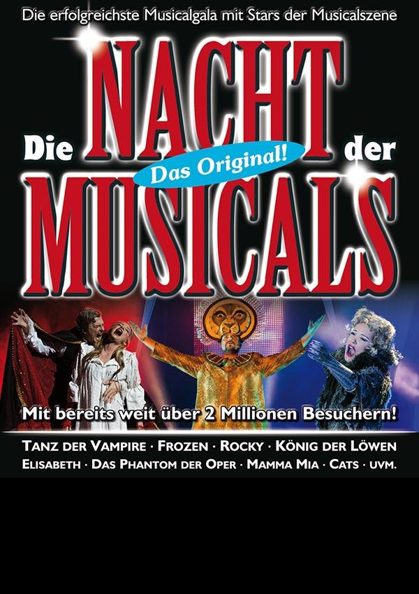 Die Nacht der Musicals – Das Original!