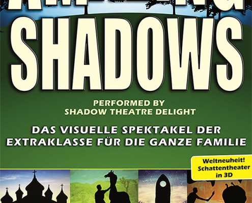 Plakatmotiv Amazing Shadows performed by Shadow Theatre Delight | Metropoltheater Bremen