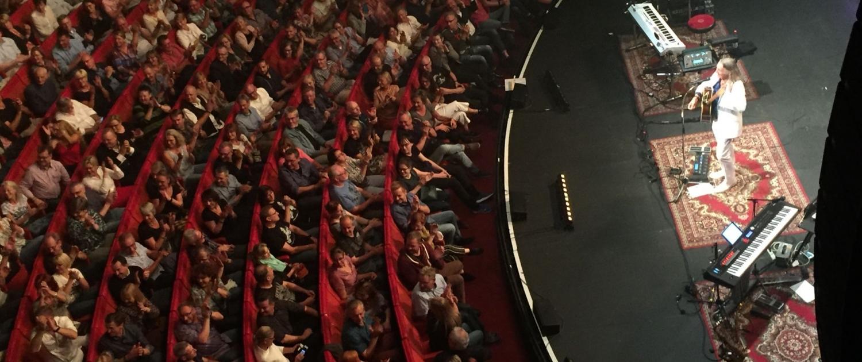 Weltstar Roger Hodgson vor Publikum im Metropol Theater Bremen