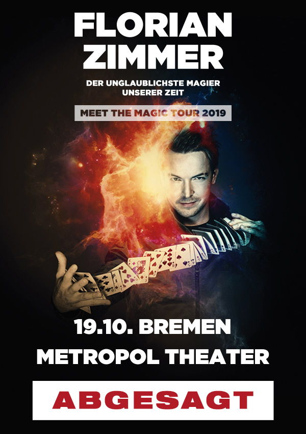 Florian Zimmer – meet the magic ABGESAGT