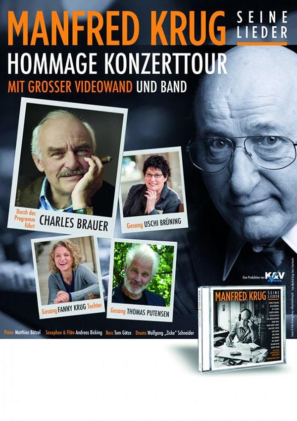 ABGESAGT: Manfred Krug – Hommage Konzerttour