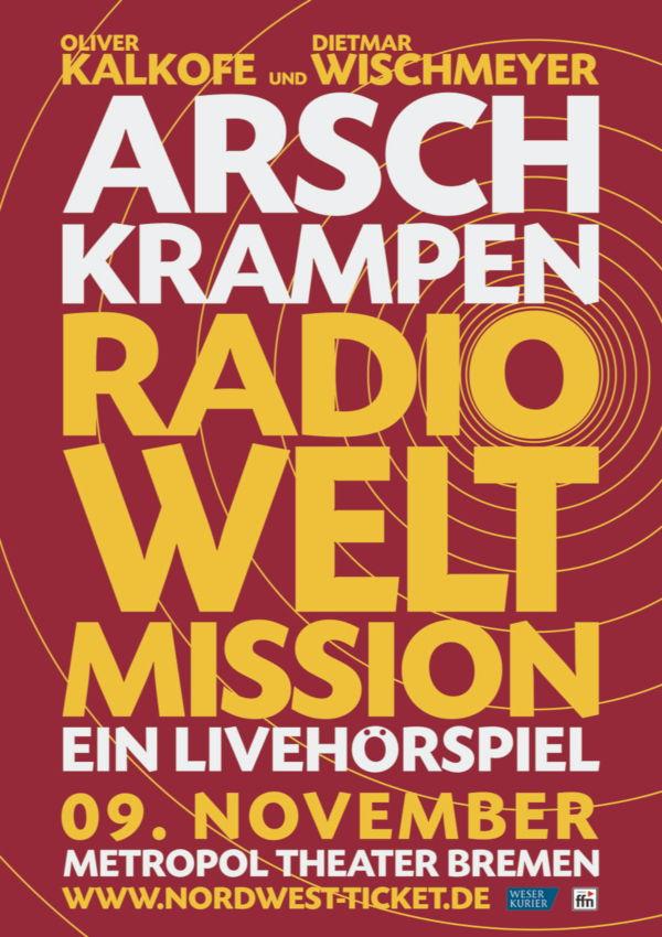 Arschkrampen – Radio Weltmission