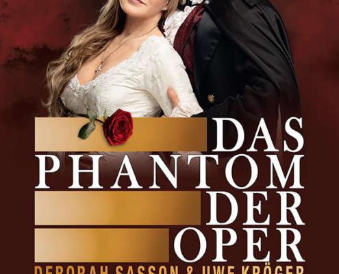Das Phantom der Oper 2022 mit Uwe Kröger und Deborah Sassonim Metropol Theater Bremen