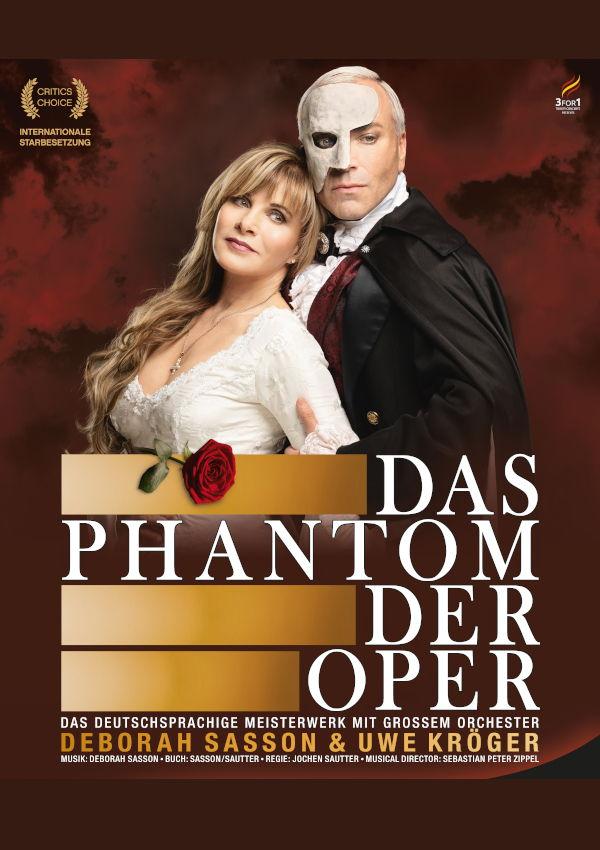Das Phantom der Oper – mit Weltstar Deborah Sasson