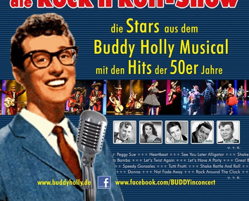 Plakatmotiv Buddy in Concert Bremen Metropol Theater
