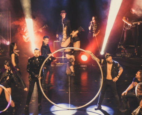 Hinter den Kulissen bei Rock the Circus