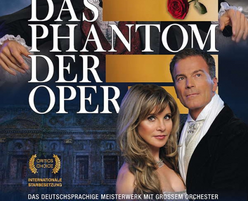 Axel Olzinger in der Rolle des Phantoms