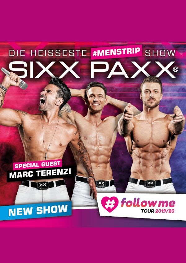 SIXX PAXX – #followme Tour 2019/20