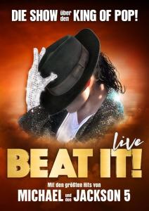 Veranstaltungsanzeige von Michael Jackson - Beat it! © Metropol Theater Bremen