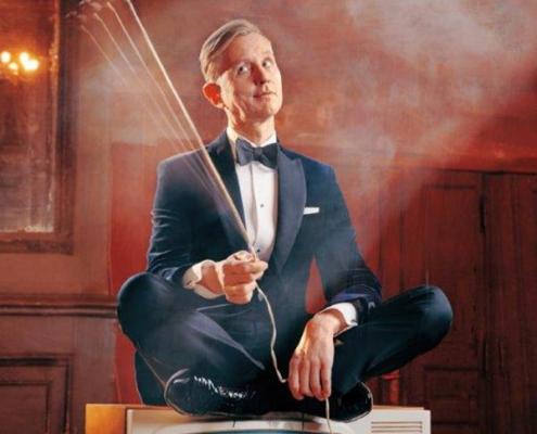 Plakatmotiv von Max Raabe & Palast Orchester © Metropol Theater Bremen