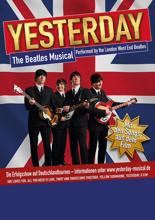 Yesterday – the Beatles Musical performed by the London West End Beatles