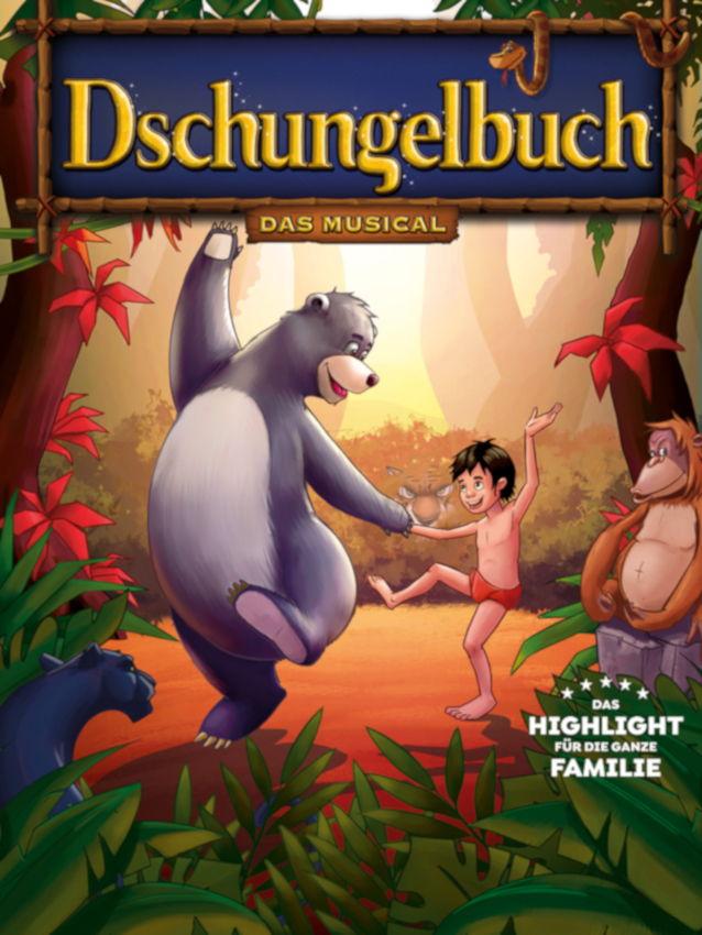Dschungelbuch – das Musical für die ganze Familie!