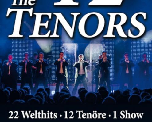 12 Tenöre, 22 Welthits, eine Show 2020 im Metropol Theater Bremen