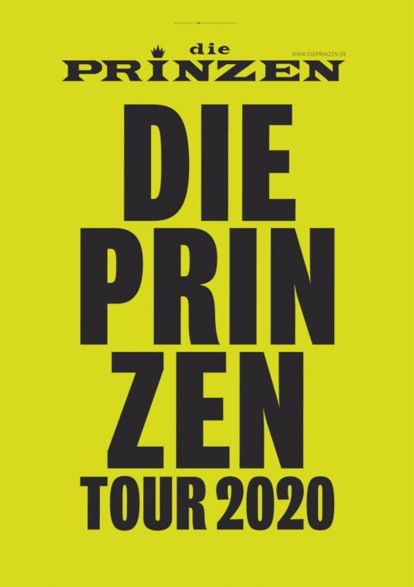 Die PRINZEN – Live 2021 – VERLEGT