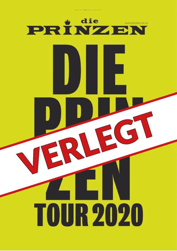 Die PRINZEN – Live 2020 – VERLEGT