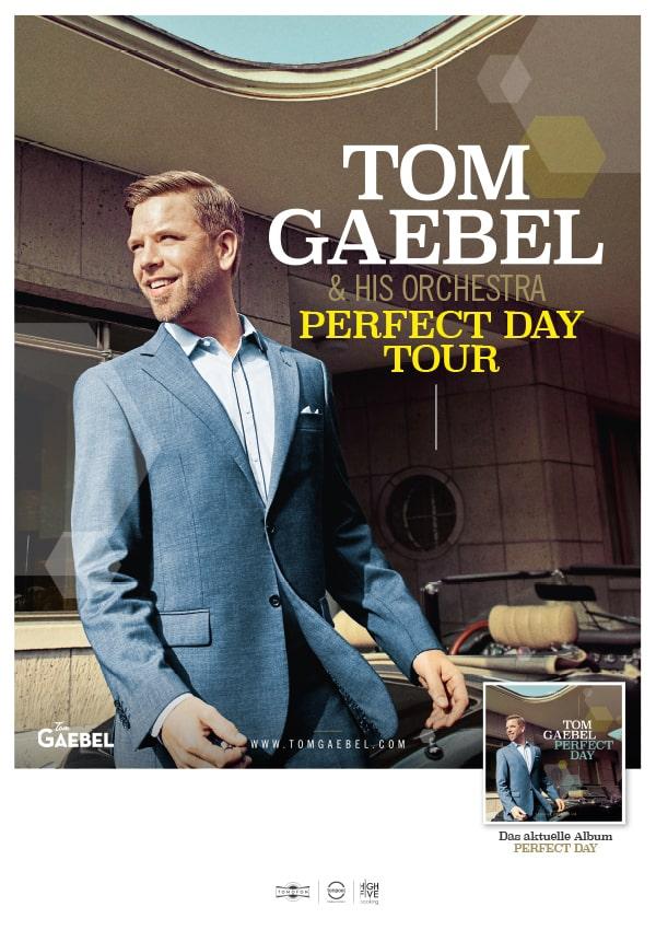 Jazz Award Gewinner Tom Gaebel live in Bremen am 25.10.2019 mit seiner Album Tour Perfect Day