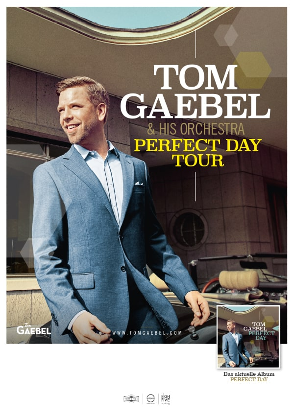 Tom Gaebel & His Orchestra – Perfect Day Tour
