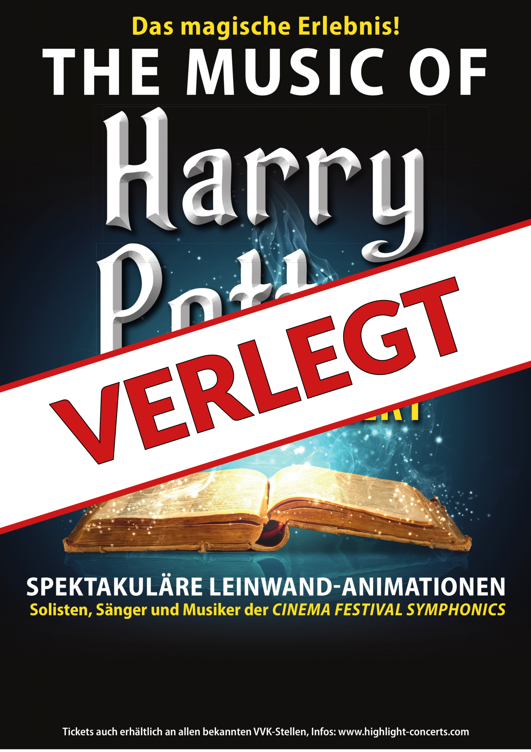 The Music of Harry Potter – Live in Concert – VERLEGT