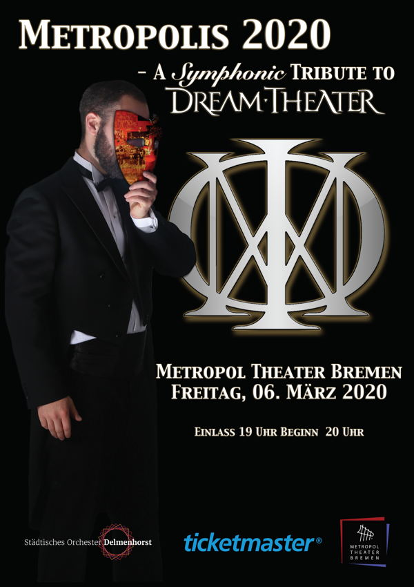 METROPOLIS 2020 – A SYMPHONIC TRIBUTE TO DREAM THEATER