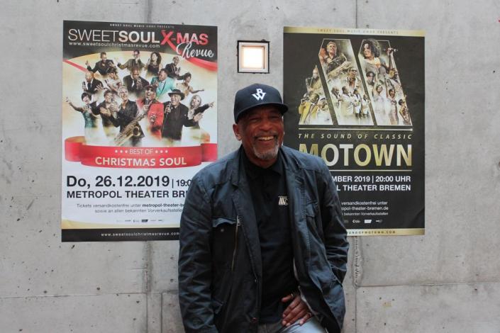 Ron Williams im Metropol Theater Bremen