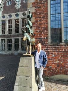 Tom Gaebel zu Besuch in Bremen