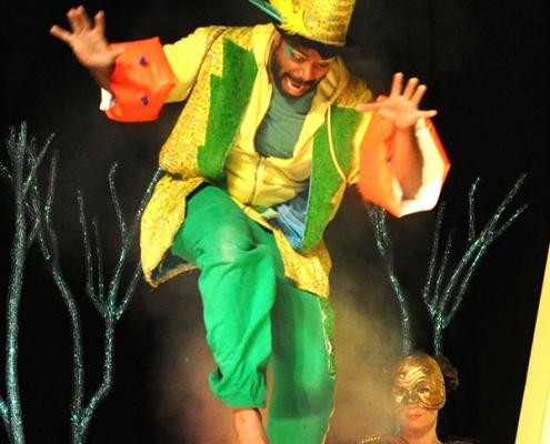 Plakatmotiv für die Kinderoper ab 5 Jahren Die kleine Zauberflöte