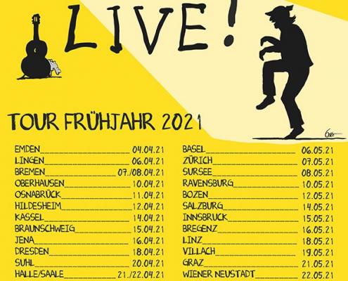 Plakatmotiv - Otto Waalkes live in Bremen 2021