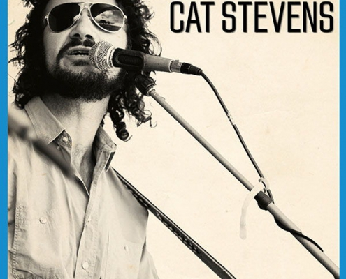 Plakatmotive für das Konzert Wild World - Ron Vincent's Tribute to Cat Stevens in Bremen 2020