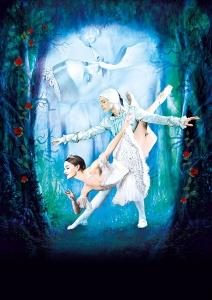 Plakatmotiv der Tanz Veranstaltung Dornröschen - Klassiches Moskauer Ballett im Metropol Theater Bremen