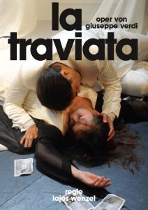 Plakatmotiv La Traviata - Oper in drei Akten von Giuseppe Verdi im Metropol Theater Bremen