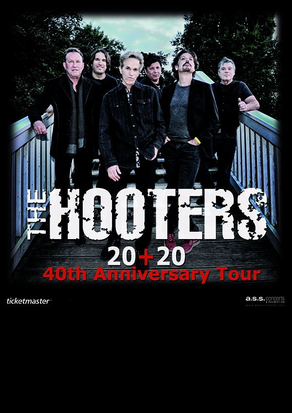 Plakatmotiv für Konzert The Hooters in Bremen im Metropol Theater