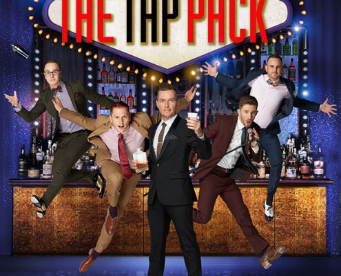 Plakatmotiv The Tap Pack - die Showsensation aus Australien im Metropol Theater Bremen