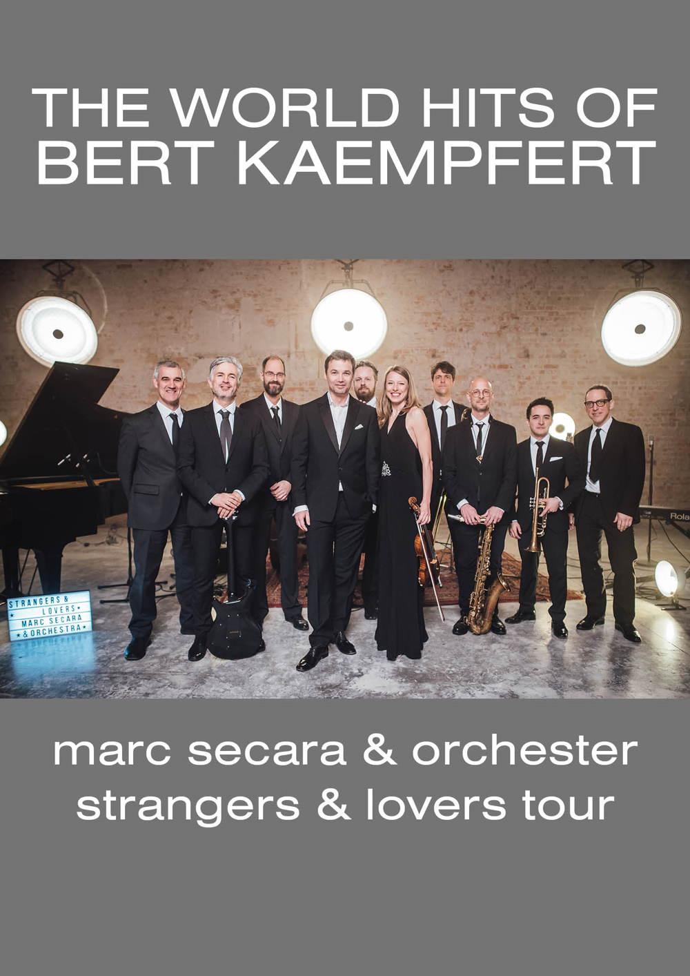 The World Hits of Bert Kaempfert – Marc Secara & Orchester