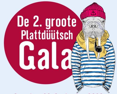 Plakatmotiv De 2. Groote Plattdüütsch Gala in Bremen