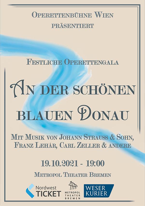 An der schönen blauen Donau – Operette