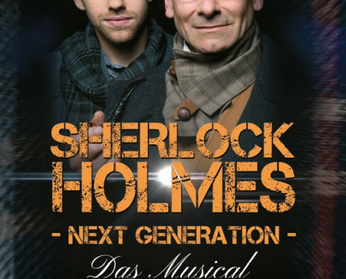 Plakatmotiv Sherlock Holmes Next Generation Das Musical in Bremen