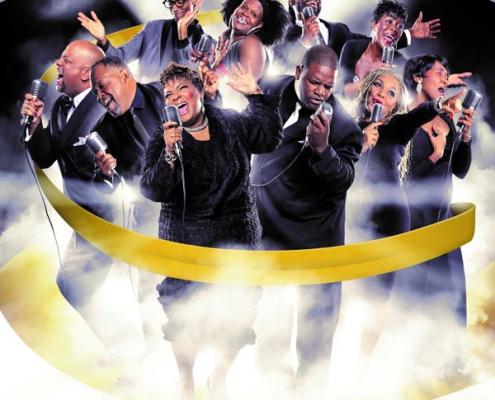 Plakatmotiv für Konzert New York Gospel Show im Metropol Theater Bremen